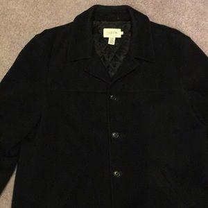 Men's wool winter dress coat